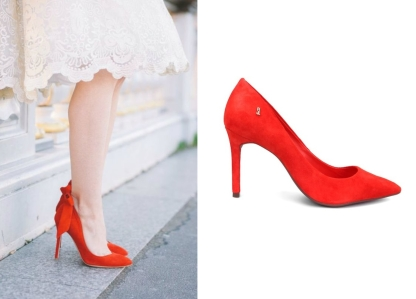 9202fba5b Uma opção para noivas que irão se casar com vestidos curtos e querem dar um  ar mais impactante é: este scarpin da Santa Lolla na Zattini, de modelagem  ...